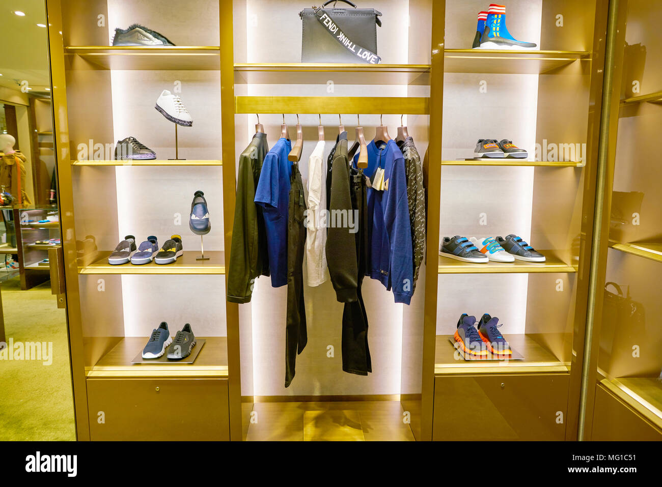 5cda332330ad Fendi Shoes Stock Photos   Fendi Shoes Stock Images - Alamy