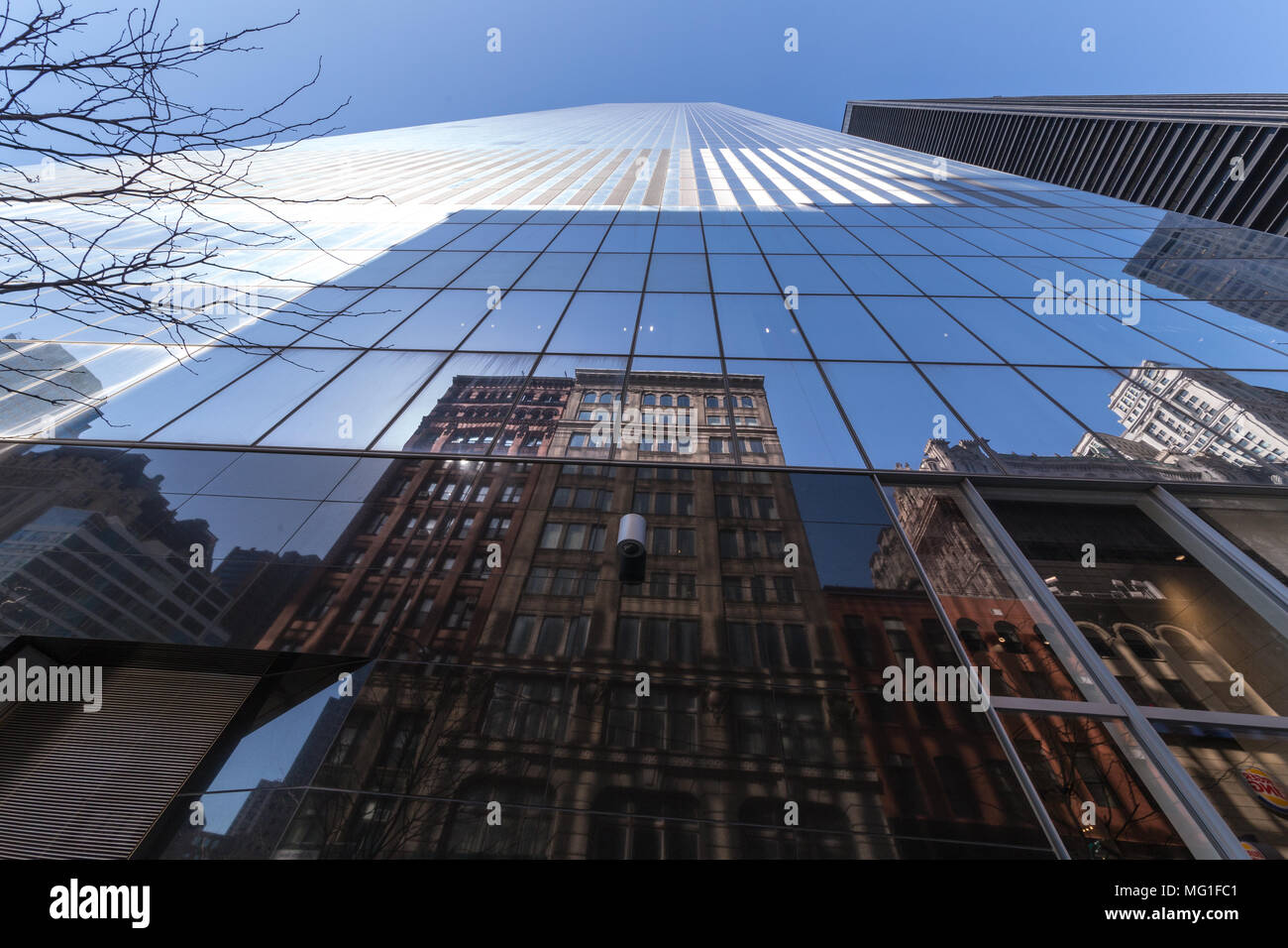 4 World Trade Center in lower Manhattan, New York, NY - Stock Image