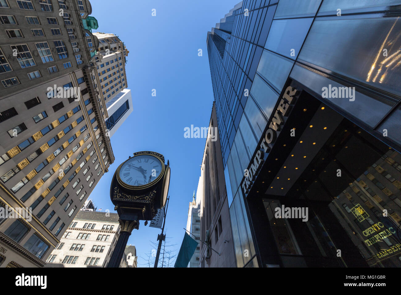 Trump Tower, NYC - Stock Image