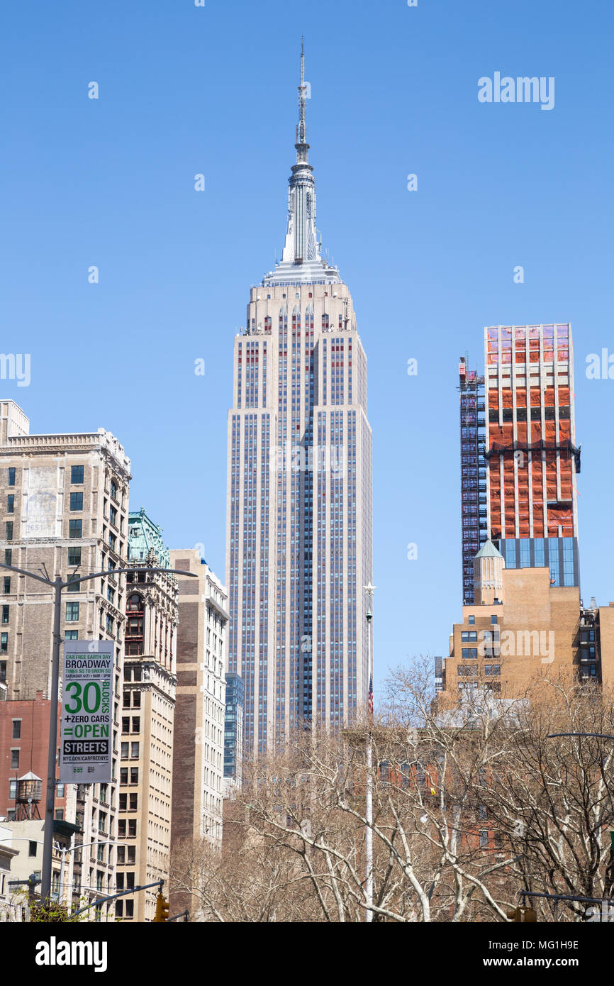 Empire State Building, NYC - Stock Image
