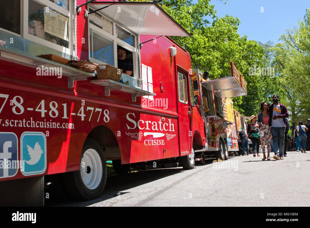 Atlanta Georgia Food Trucks
