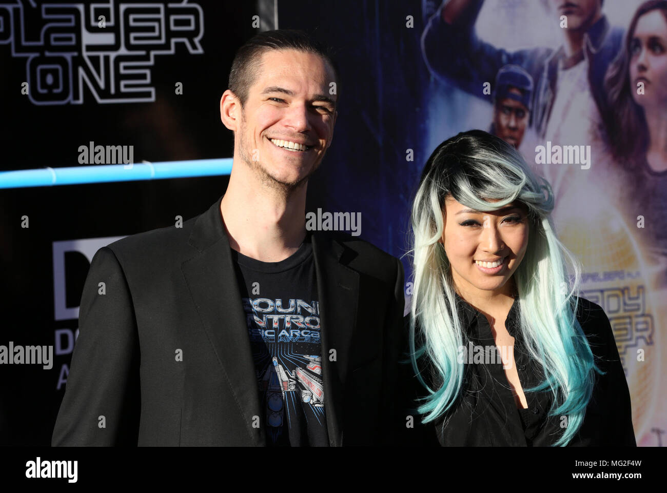 Celebrities Attend Ready Player One Film Premiere At Dolby Theatre