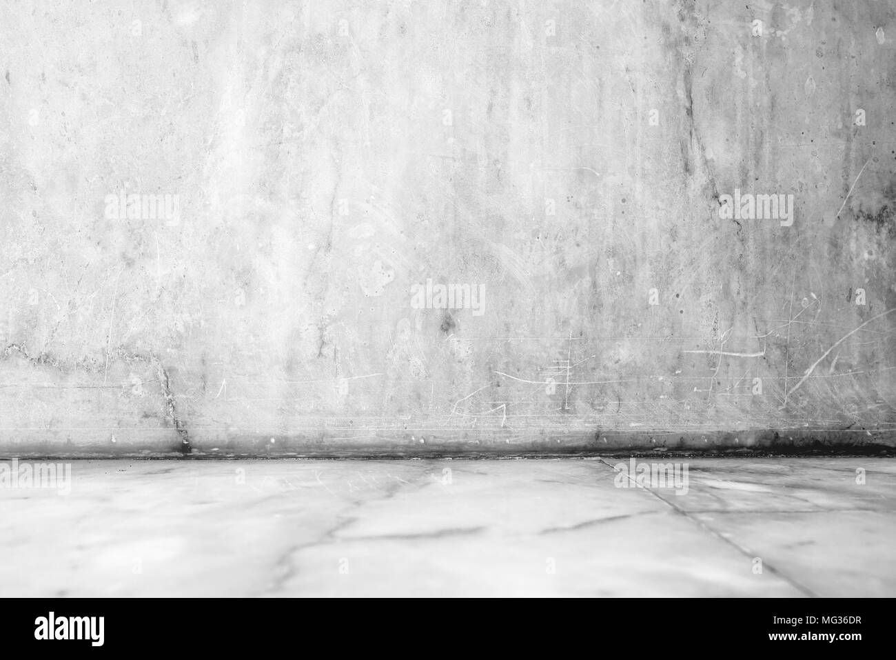 White Empty Marble Room Background Stock Photo Alamy