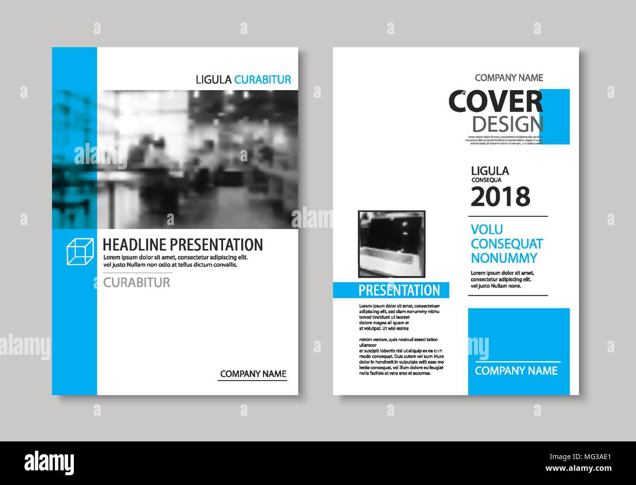 Set of blue cover and layout brochure flyer poster annual report set of blue cover and layout brochure flyer poster annual report design templates use for business book magazine presentation portfolio corpo cheaphphosting Image collections