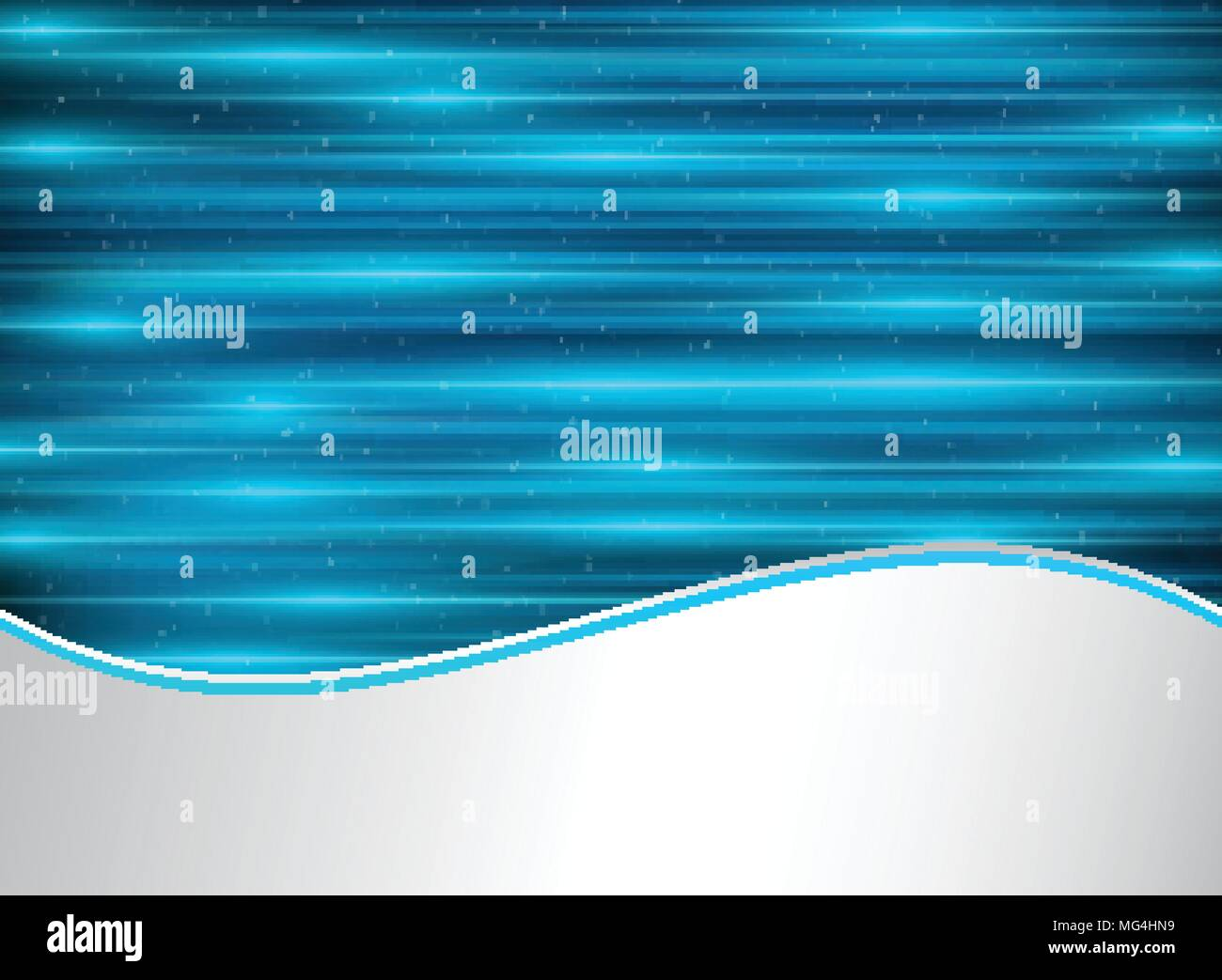 abstract technology blue laser lines horizontal with lighting effect
