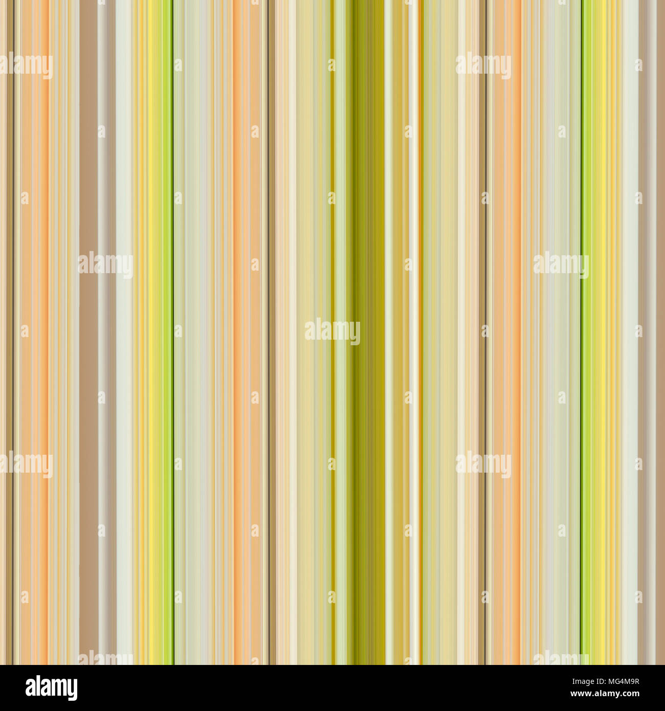 Multicolored Striped Cotton Or Linen Fabric Wrapping Paper Background Pattern In Yellow Green