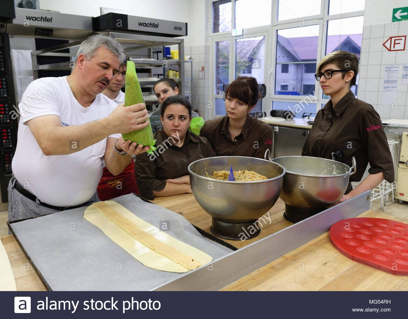 Apprentices - Stock Image