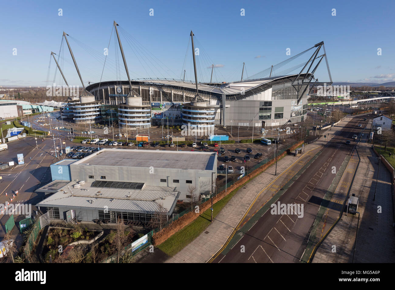 Manchester City Etihad Stadium - Stock Image