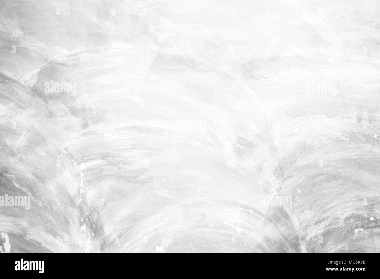 White Grunge Concrete Wall Texture Background. Stock Photo