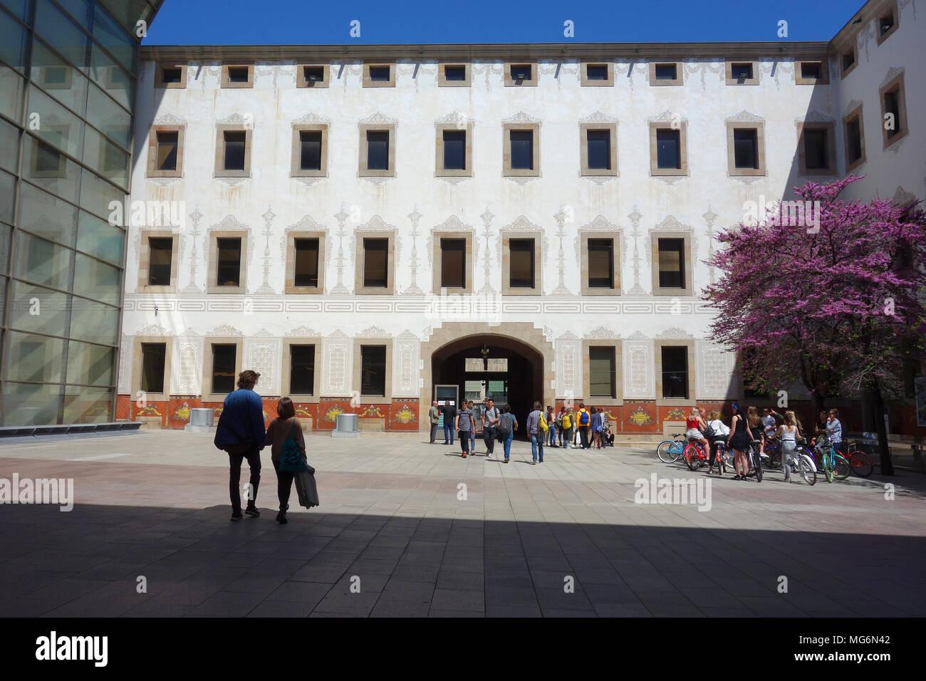 Centre de Cultura Contemporània, Barcelona, Catalonia, Spain - Stock Image
