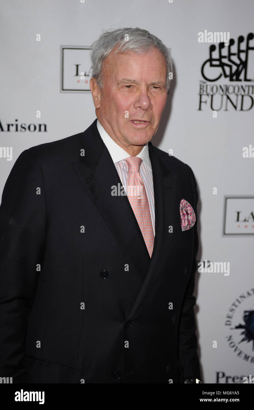BAL HARBOUR, FL - NOVEMBER 10: Tom Brokaw attends Destination Fashion 2012 To Benefit The Buoniconti Fund To Cure Paralysis, the fundraising arm of The Miami Project to Cure Paralysis, on November 10, 2012 in Bal Harbour, Florida  People:  Tom Brokaw Stock Photo