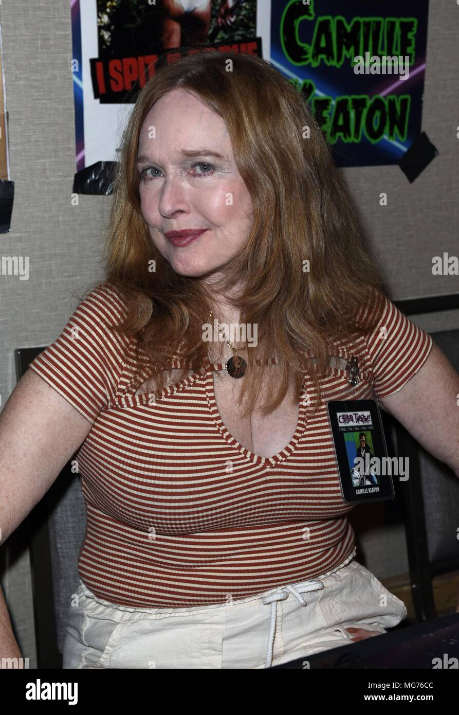 Camille Keaton raw force