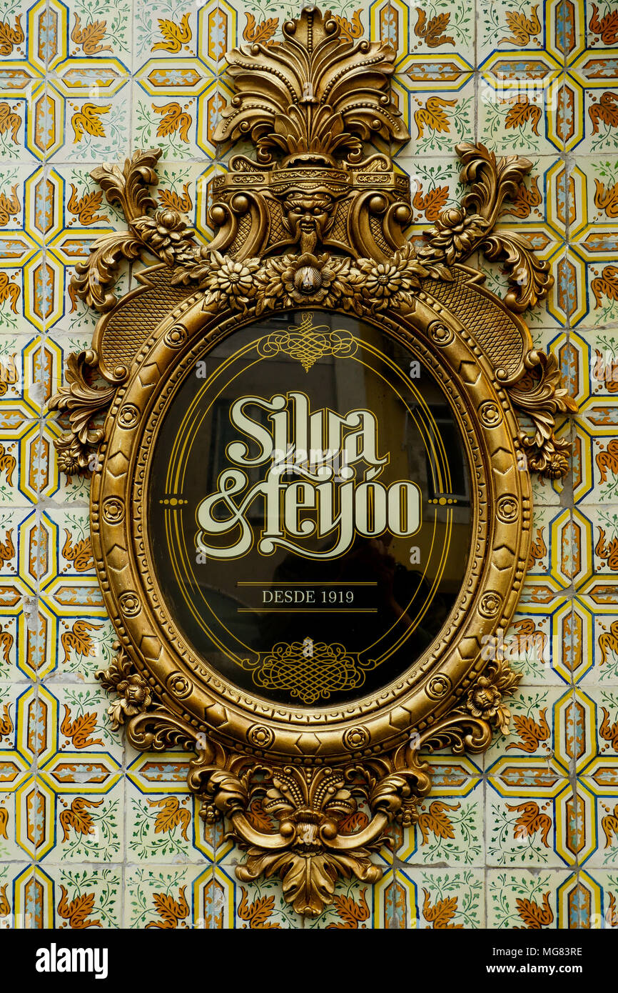 Silva et Feyoo  shop, Mouraria district, Lisbon, Portugal - Stock Image