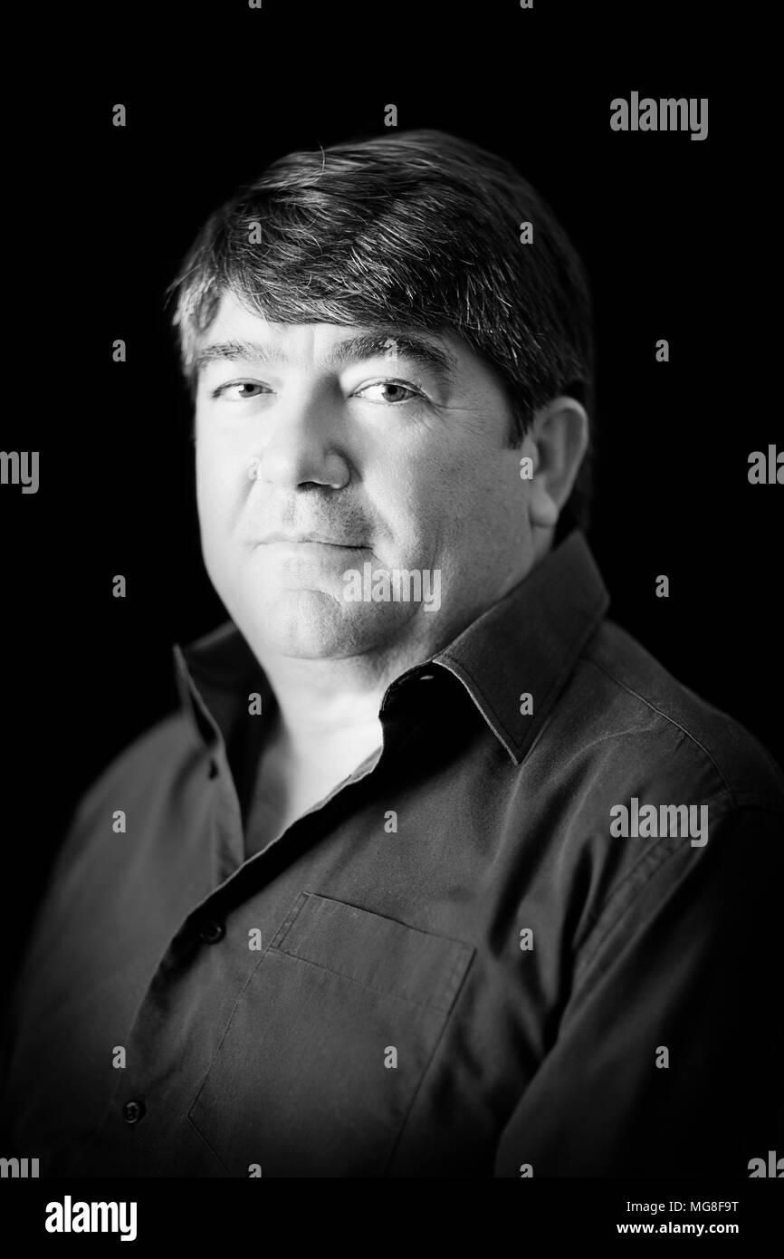 Portrait of a man - Stock Image