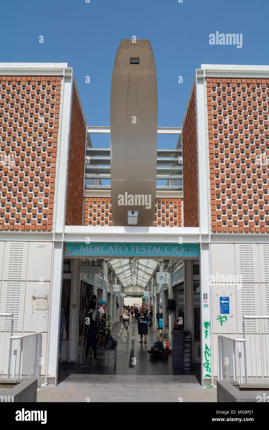 Nuovo Mercato di Testaccio, rome, italy - Stock Image