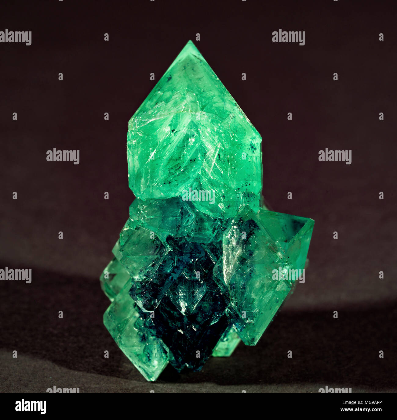 Green mineral. - Stock Image
