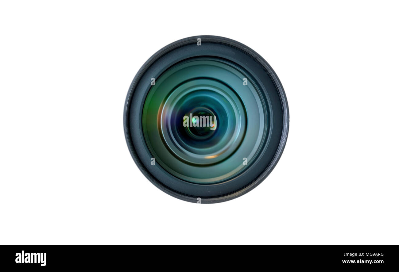 Zoom camera lens. - Stock Image