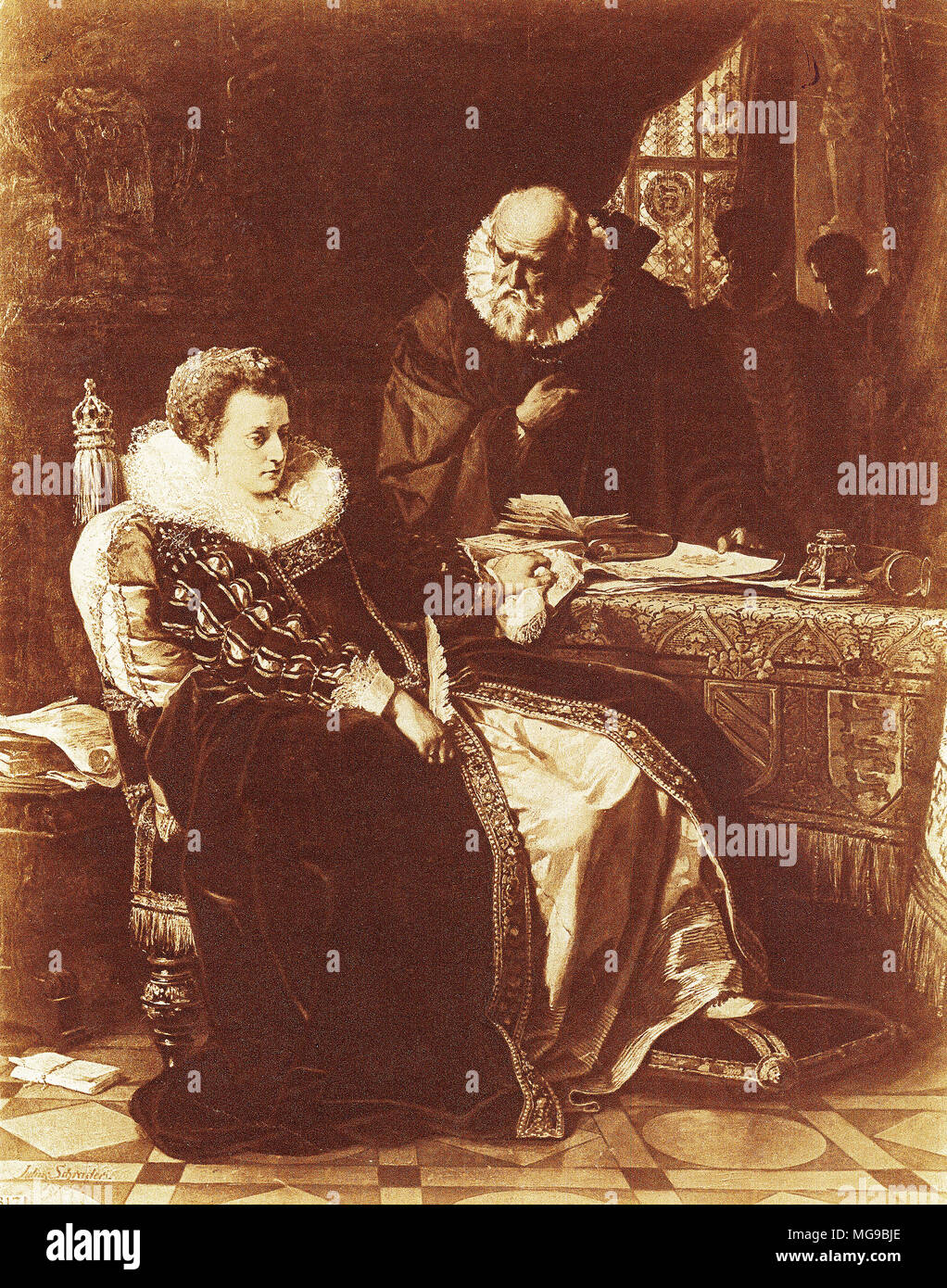 Death Of Queen Elizabeth I Stock Photos & Death Of Queen Elizabeth I