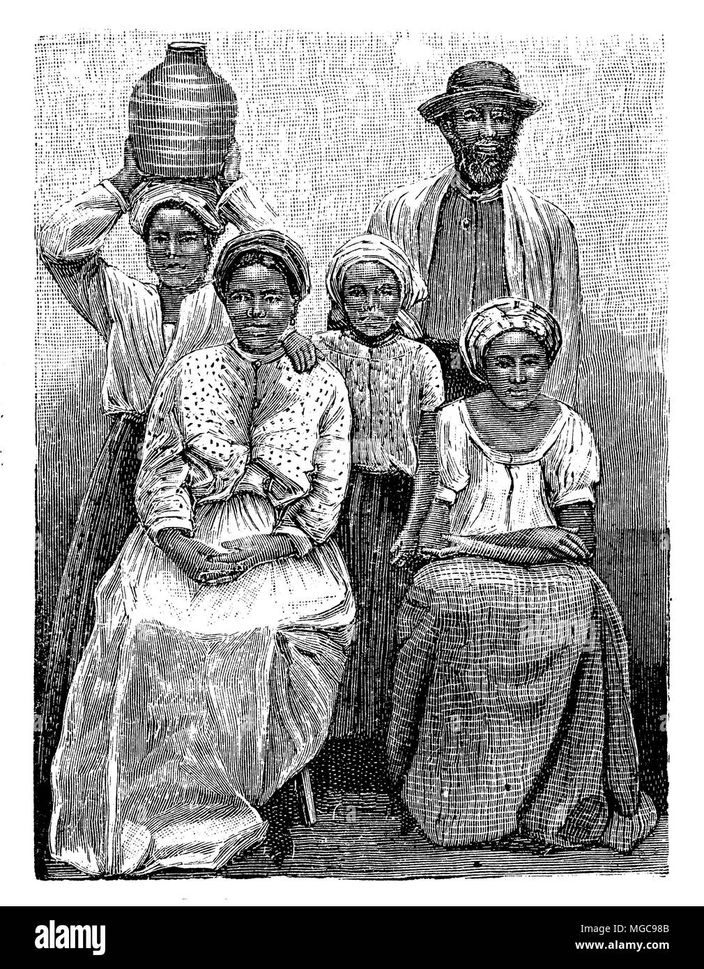People from Cape Verde,   1904 Stock Photo