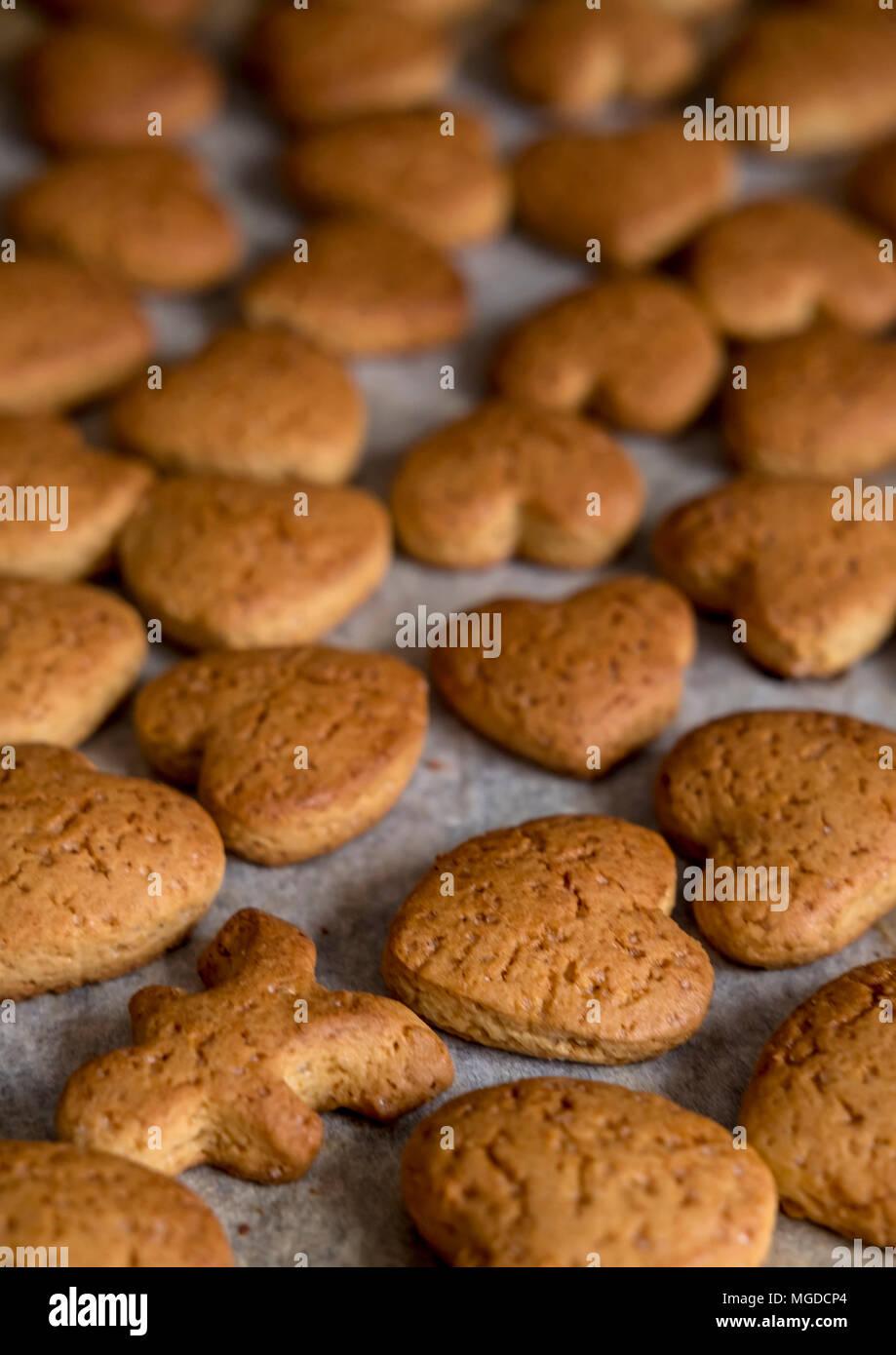 Polish Christmas Cookies.Polish Christmas Biscuits Stock Photo 182233580 Alamy