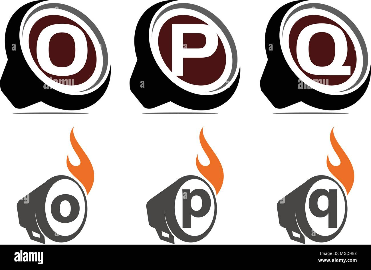 Sound Video Service Production Set - Stock Vector