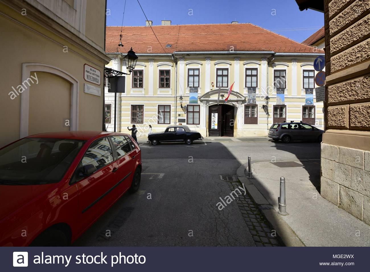 Croatian Museum of Naive Art  in Zagreb,Croatia - Stock Image
