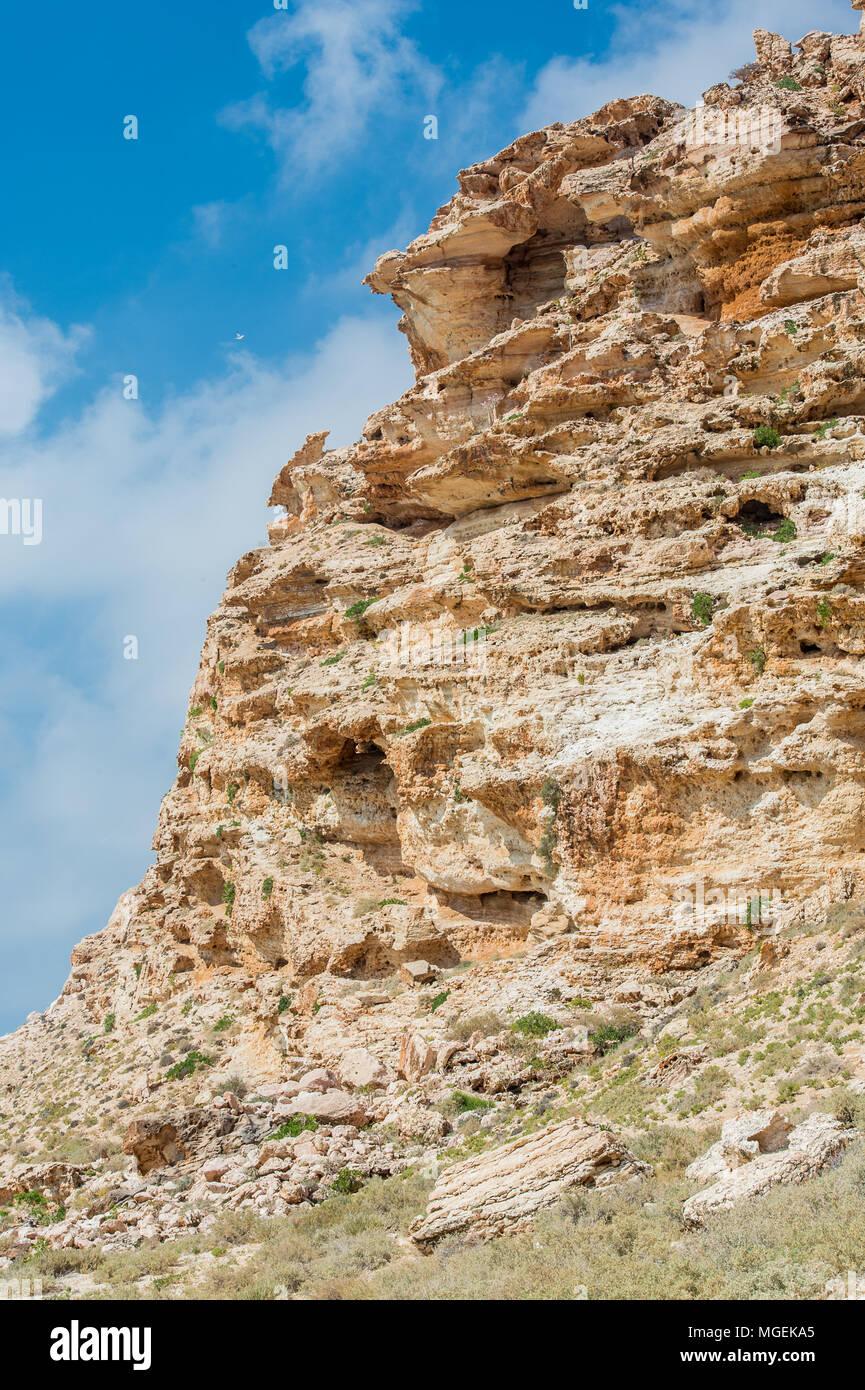 Rocks of Socotra Island, Yemen - Stock Image