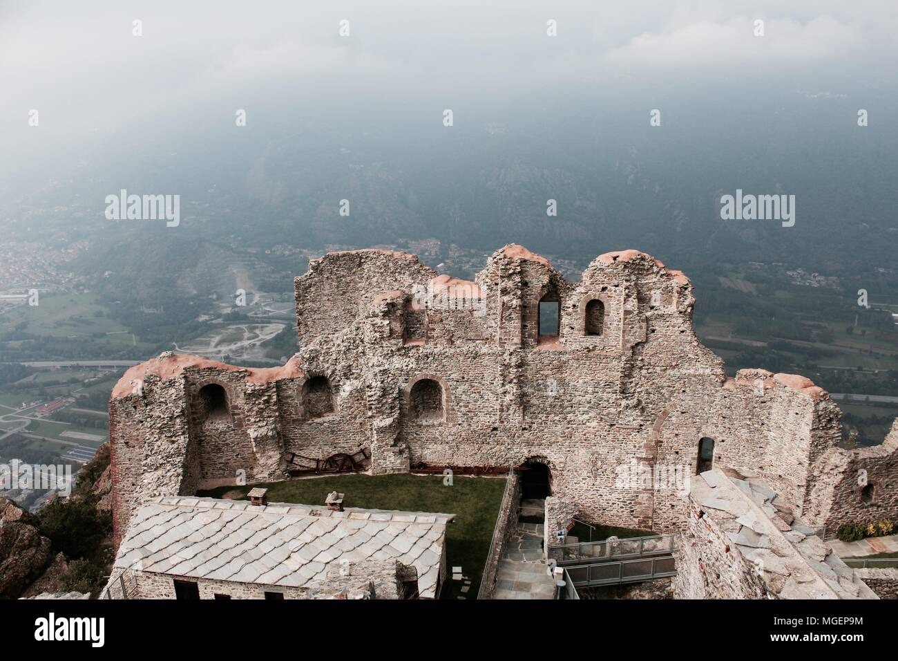 The Abbey of the Sacra di San Michele near