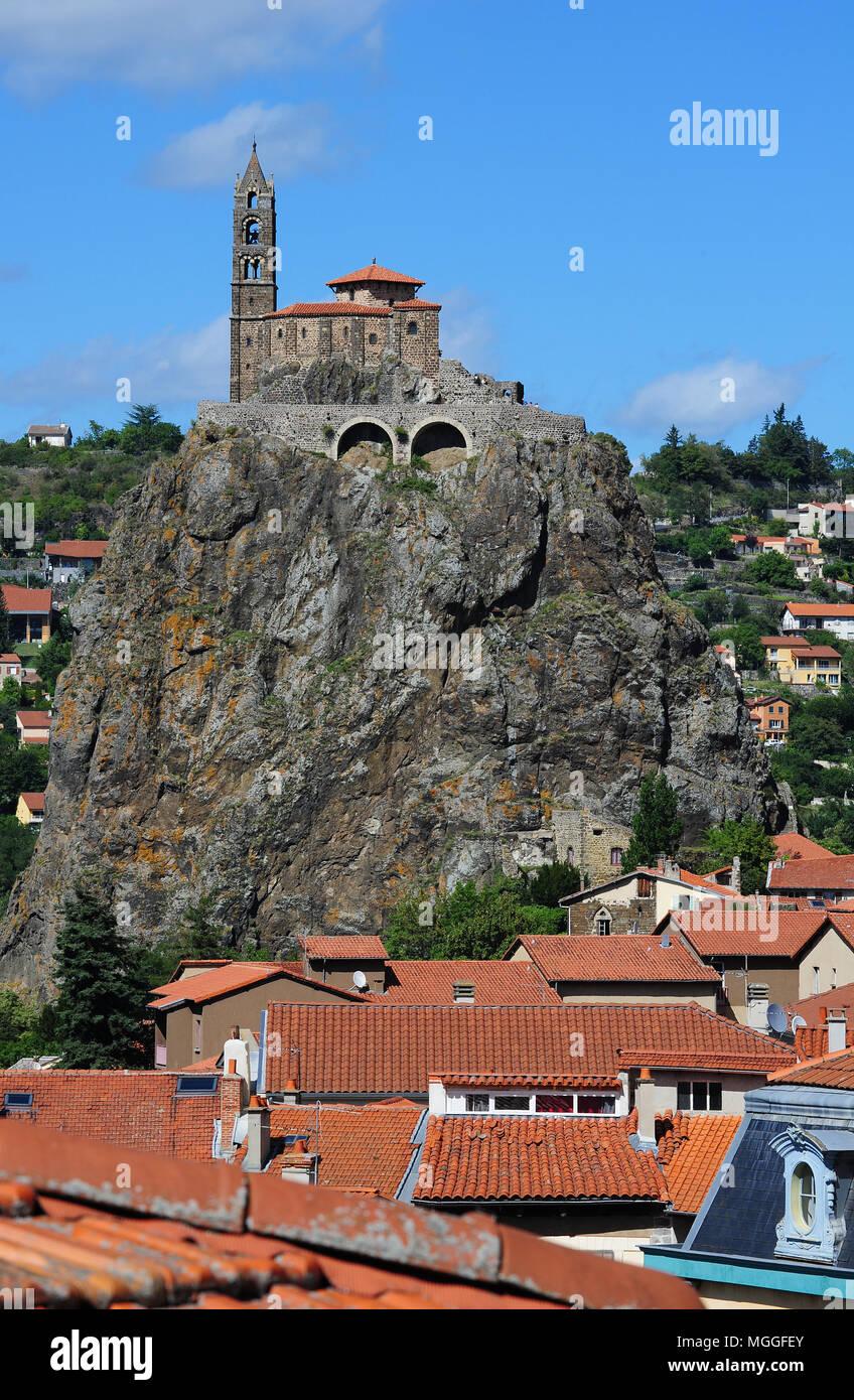 Architecte Le Puy En Velay the chapel of saint-michel d'aiguilhe, near le puy-en-velay