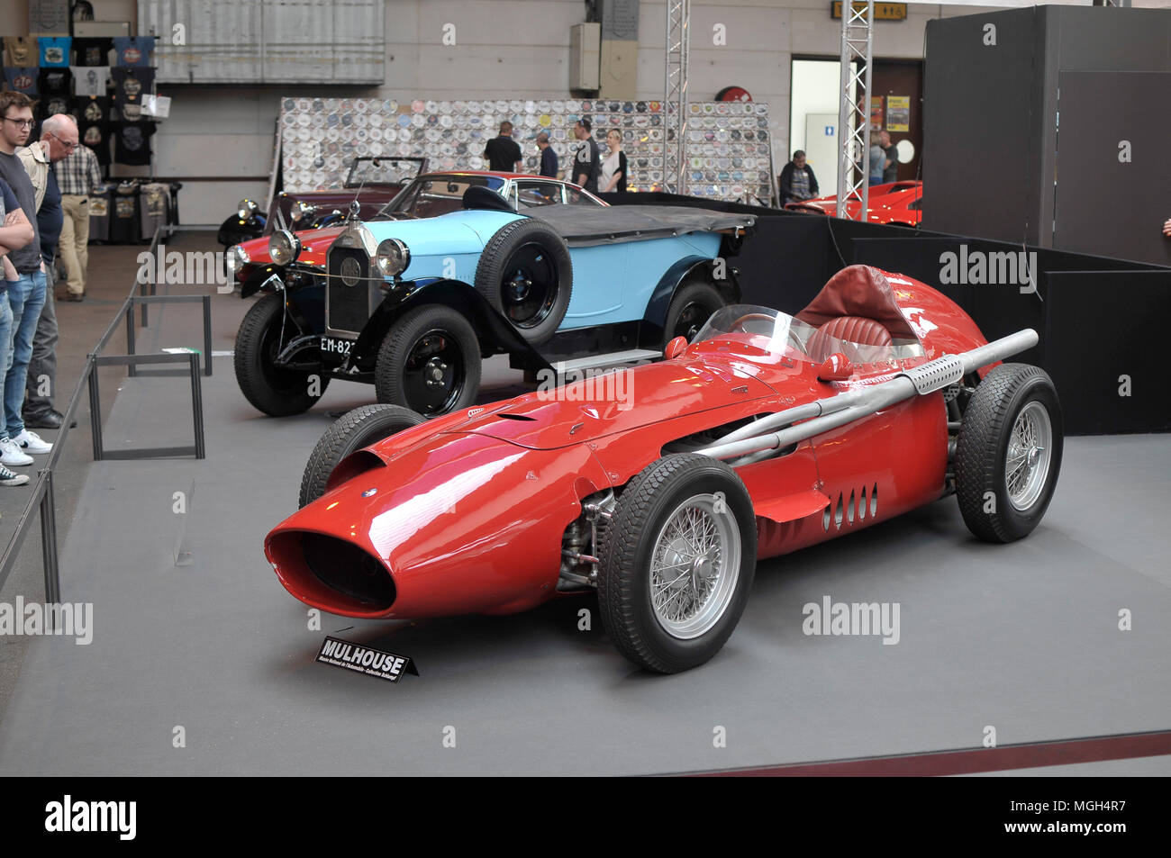 Maserati 250 F collection car - Stock Image