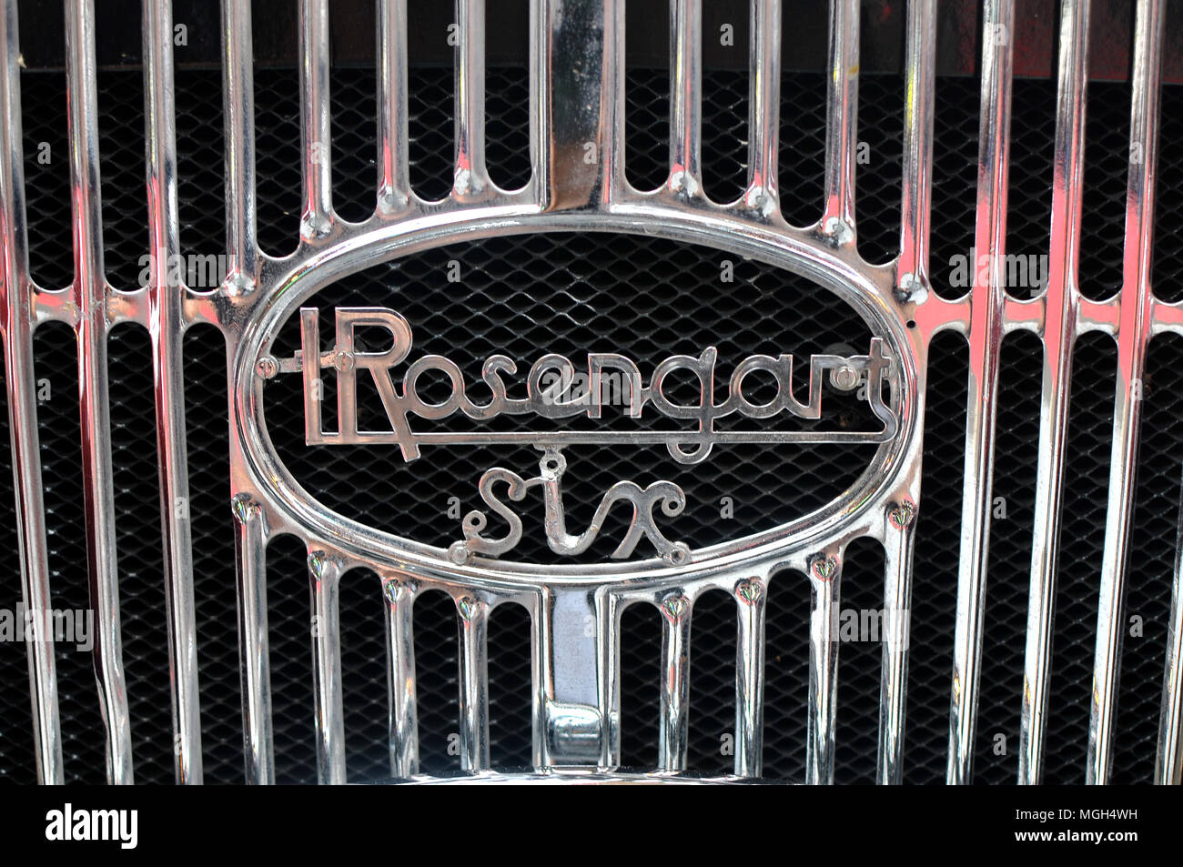 Rosengart car collection - Stock Image