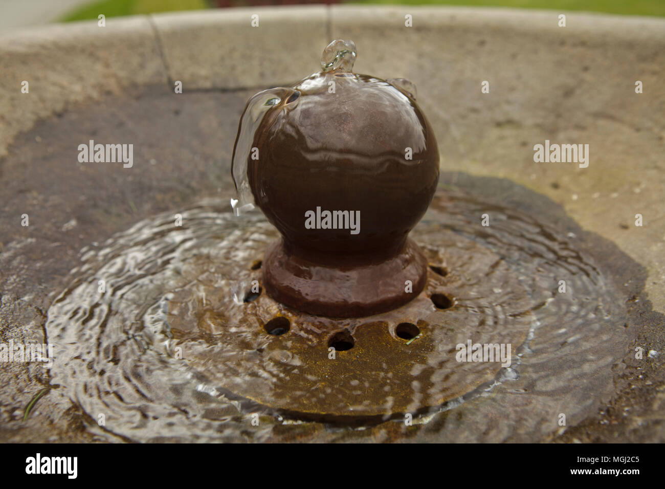 little water fountain - Stock Image