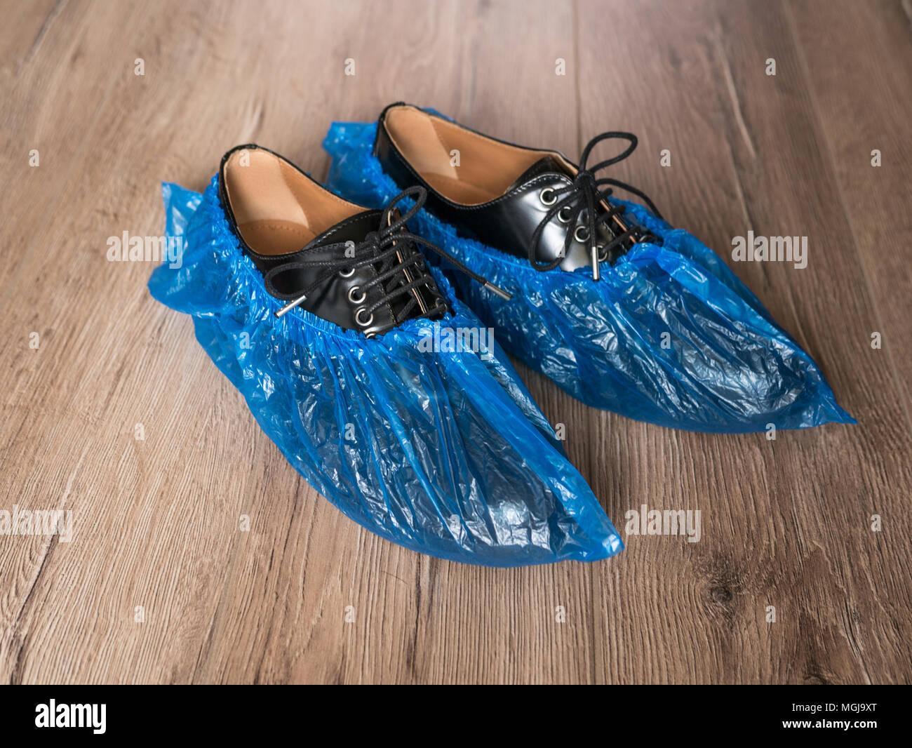 Disposable Shoe Covers Stock Photos Amp Disposable Shoe
