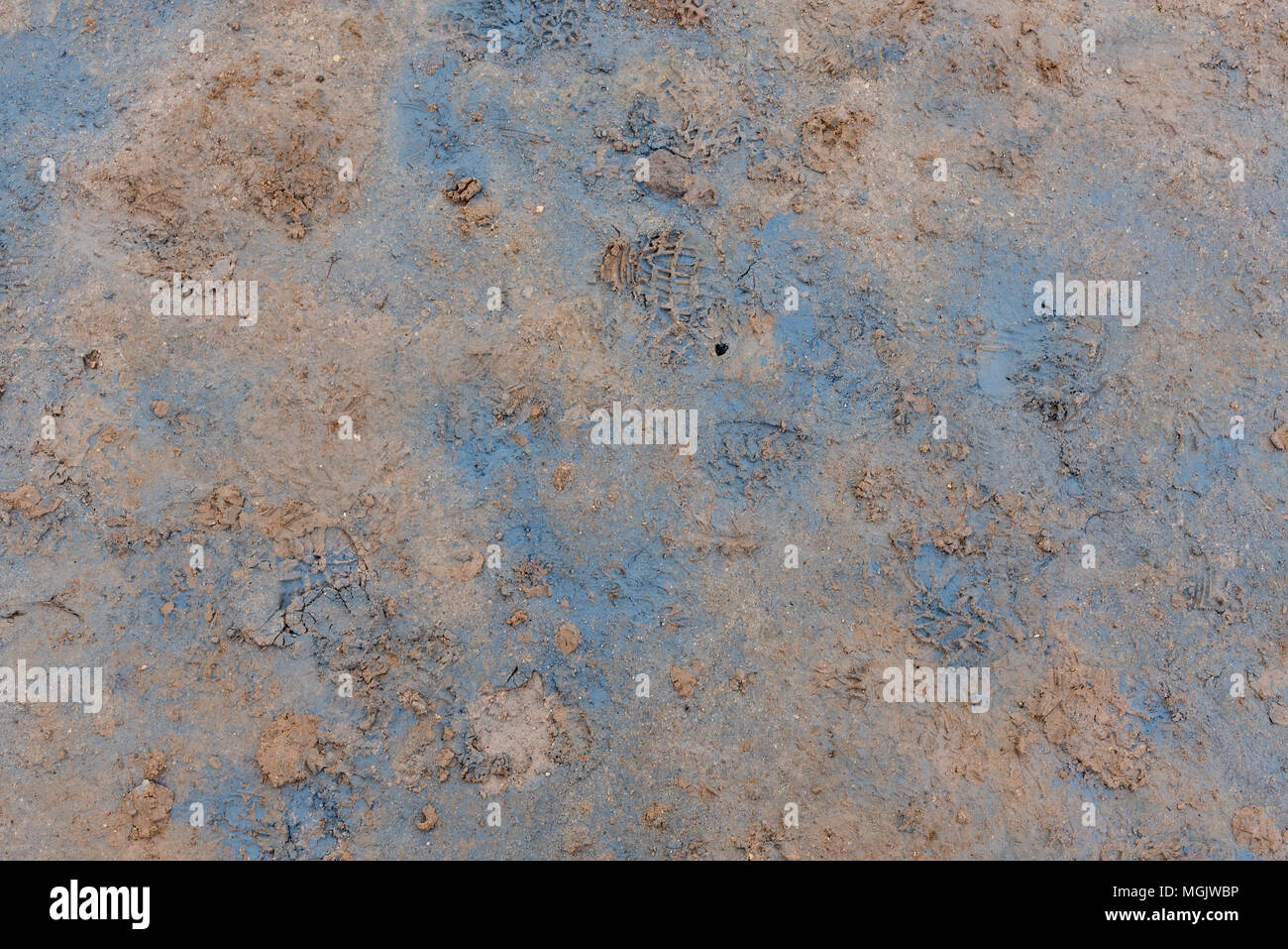 Hverir, signs of life - Stock Image