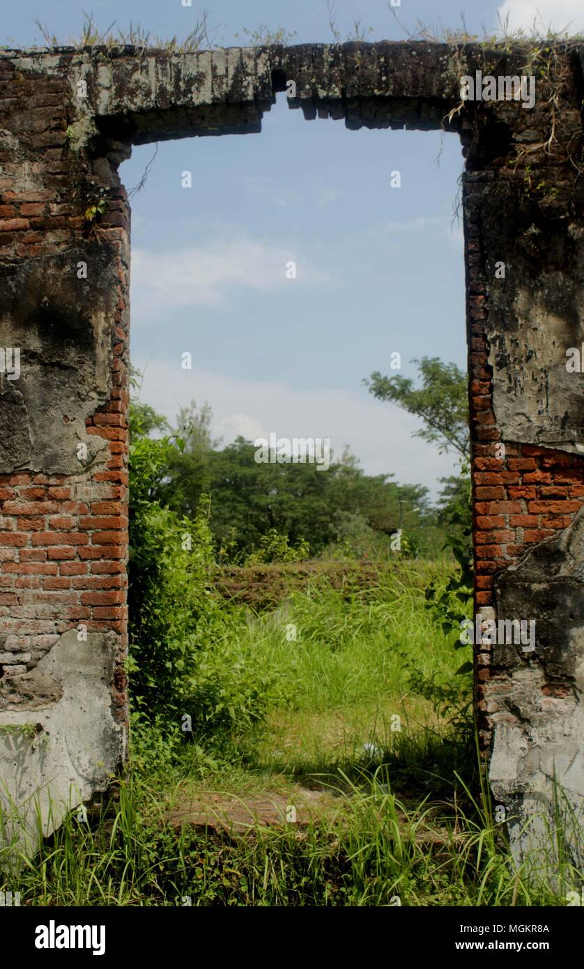 Madiun Indonesia 24th Apr 2018 Visible Window As The Air