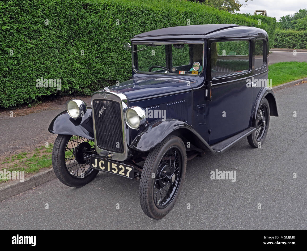 Austin Seven Motor Car JC1527 - Stock Image