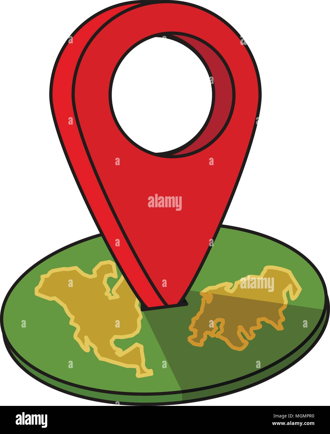 Around the world travelling by plane airplane trip in various around the world travelling by plane airplane trip in various country travel pin location on a global map flat icon modern design style vector illu gumiabroncs Images