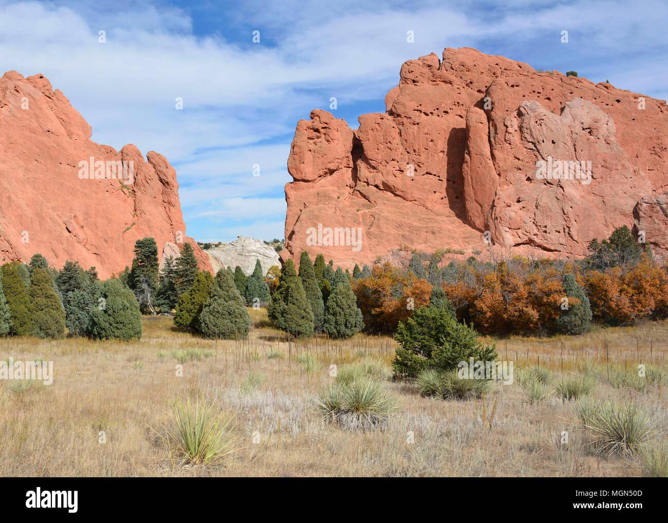 Colorado Springs Scenery - Stock Image
