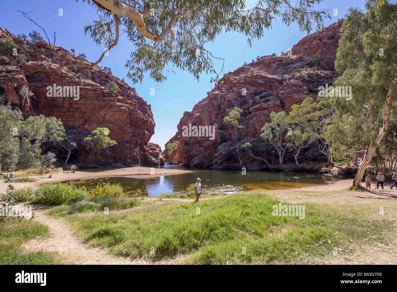 Uluru, Alice Springs, Australia - Stock Image