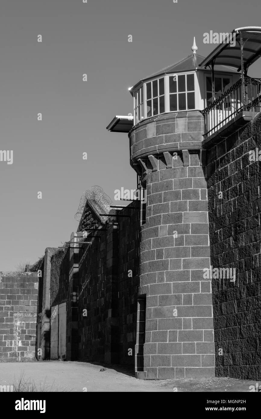 Pentridge Prison, Melbourne, Australia Stock Photo