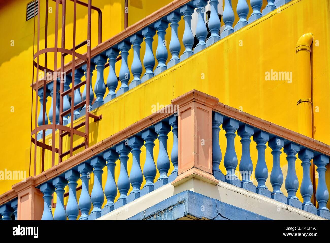 Singapore Endingen balcony detail railings stock photos balcony detail railings stock