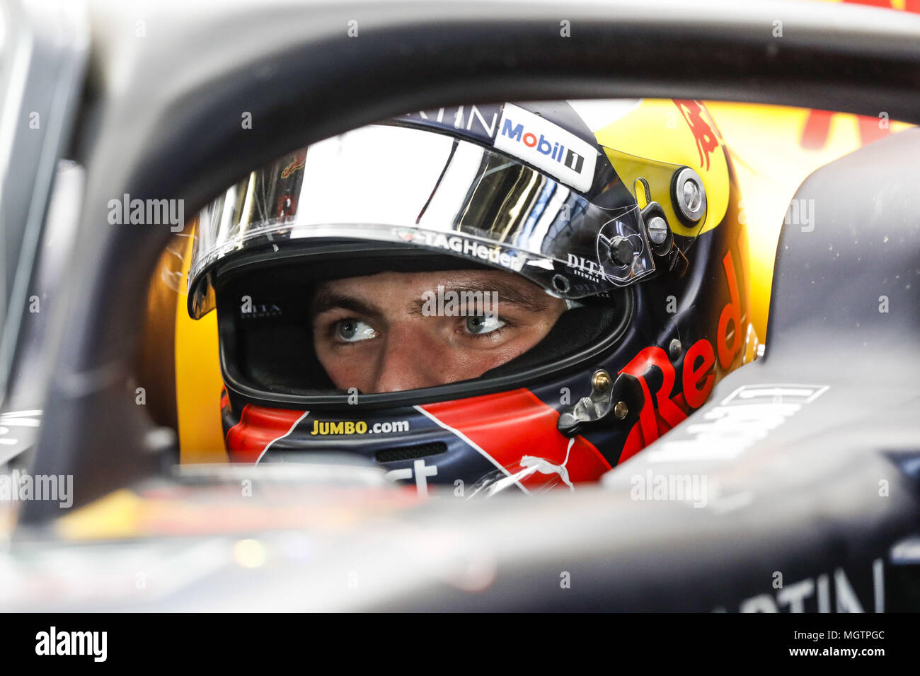 Verstappen Max Ned Aston Martin Red Bull Tag Heuer Rb14 Portrait During The 2018 Formula One
