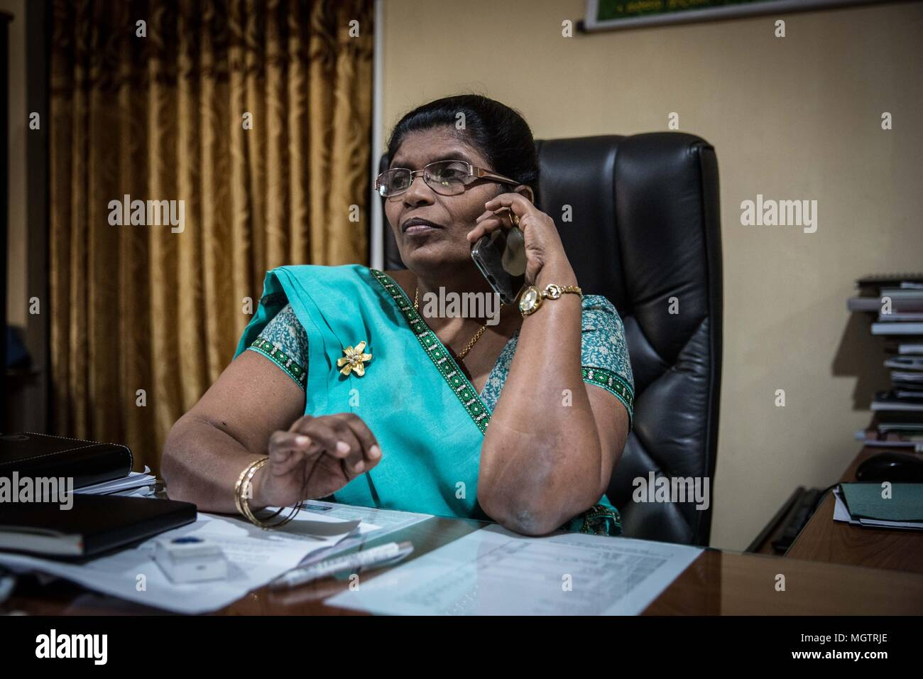 Woman in Sri Lanka