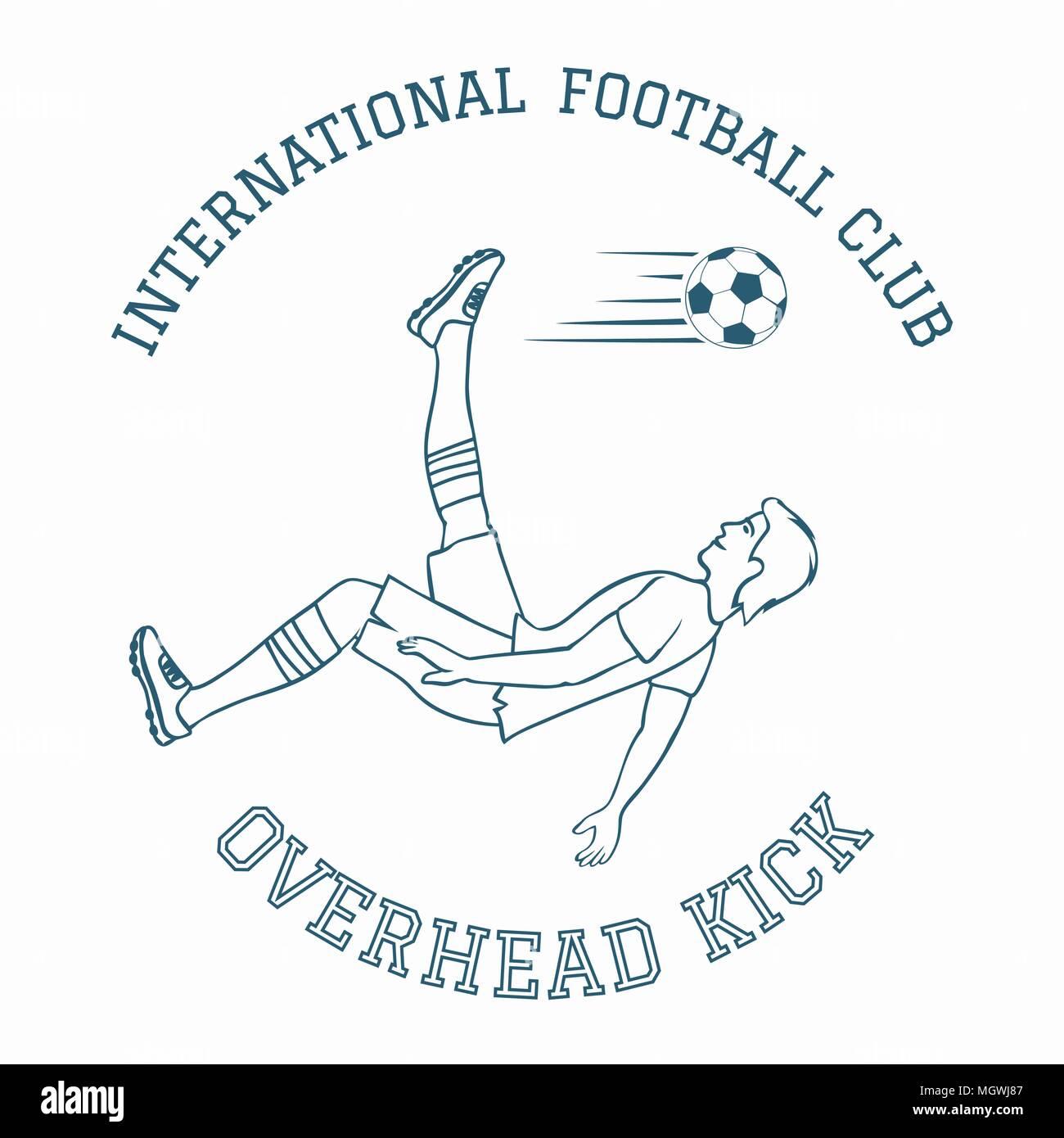 Emblem of soccer club. - Stock Vector