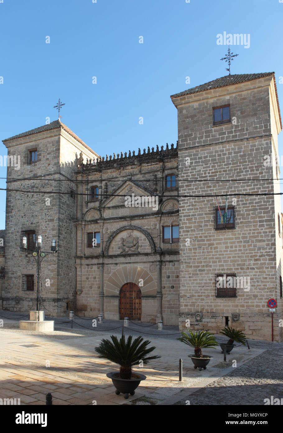 Casa De Las Torres In Ubeda Spain Now The School Of Arts Stock Photo Alamy