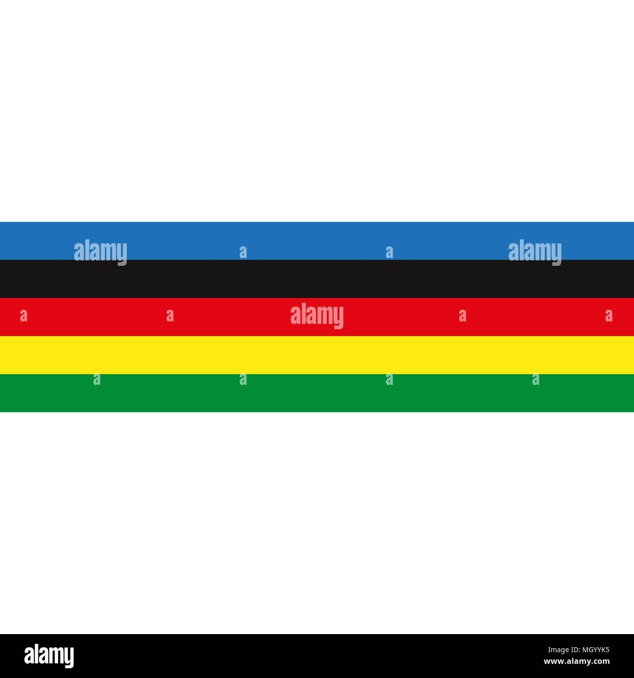 multi-colored symbolic stripes  - Stock Vector