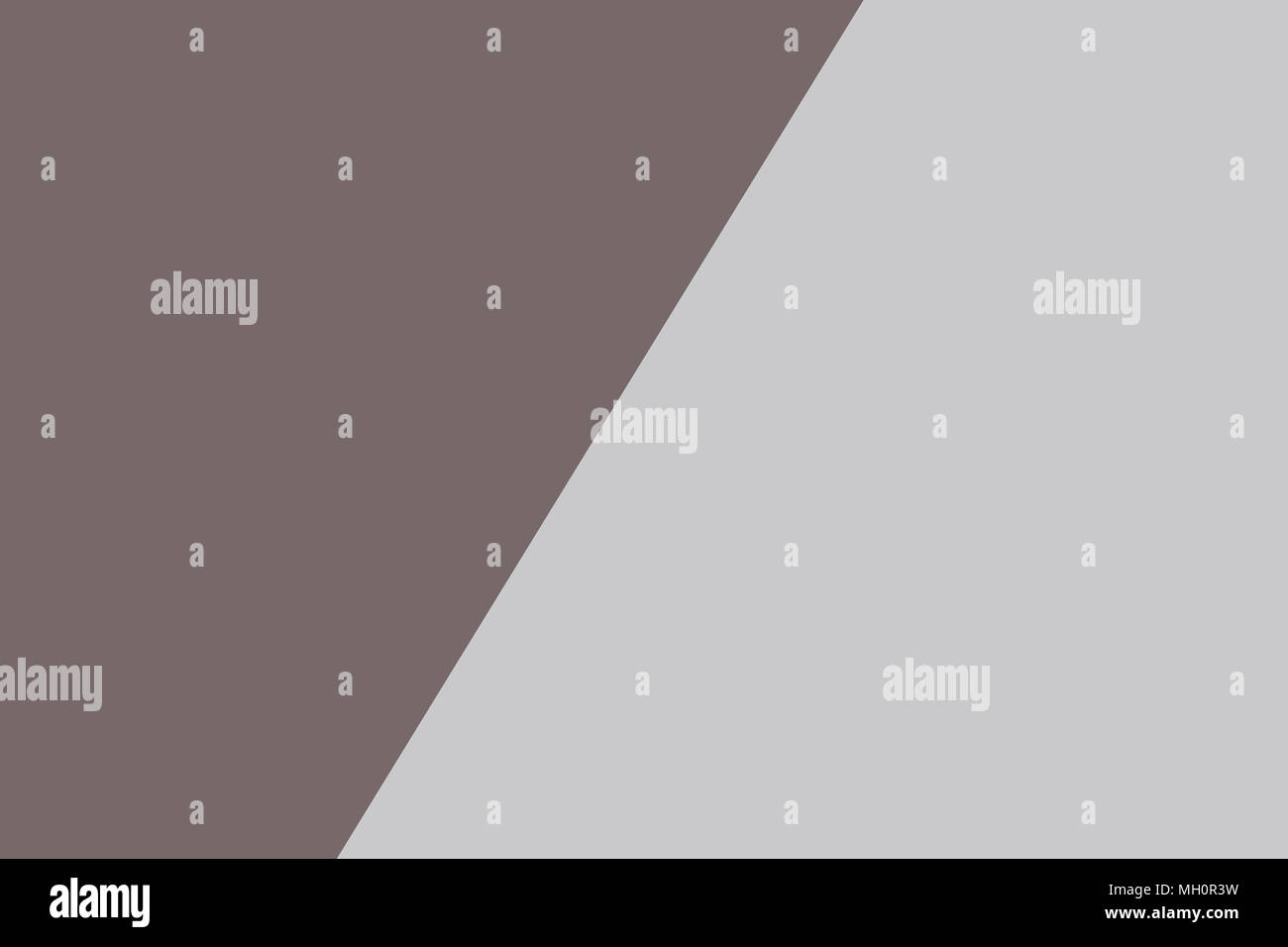 Two tone of grey paper background - Stock Image