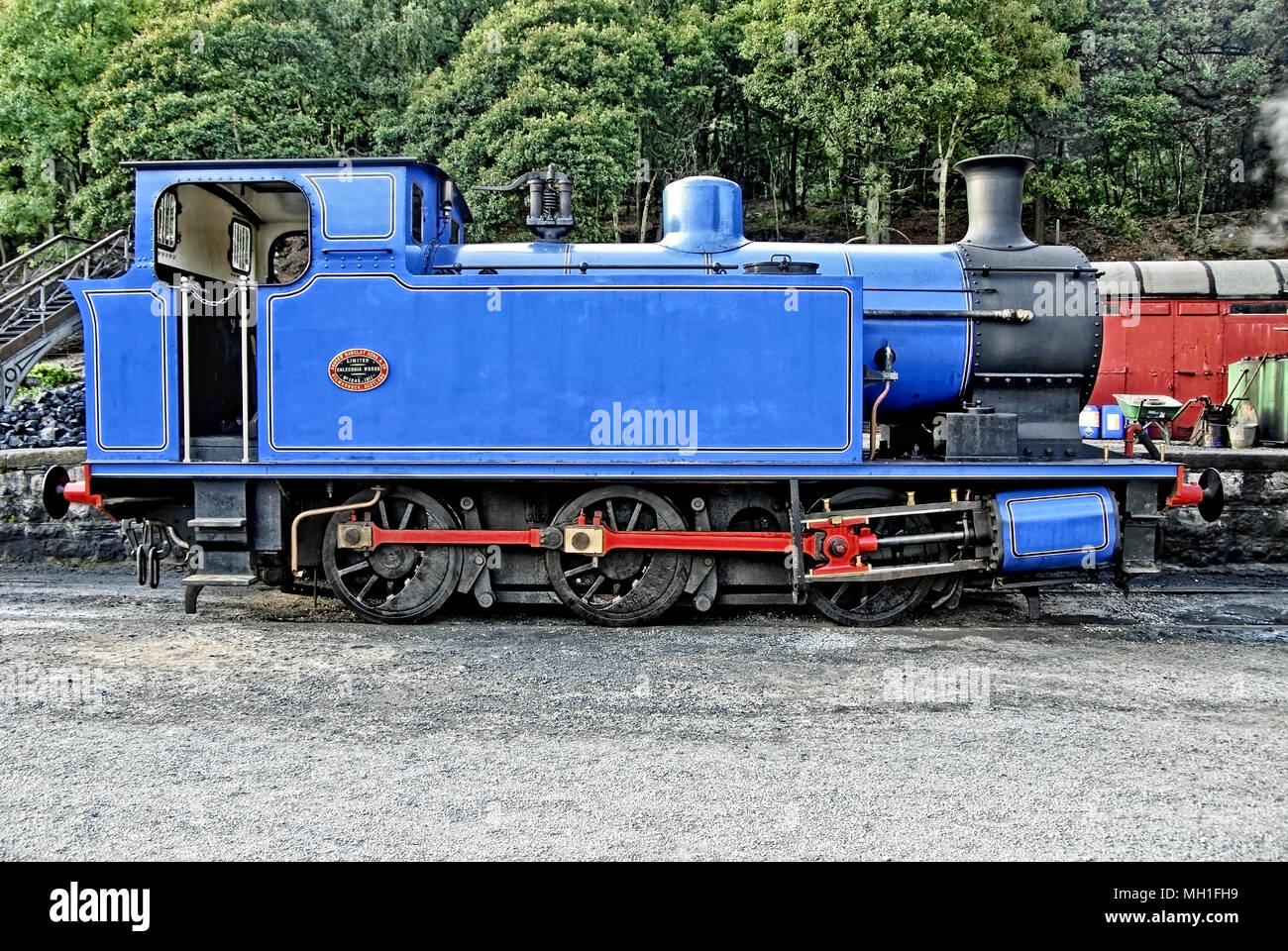 Barclay 0-6-0 - Stock Image