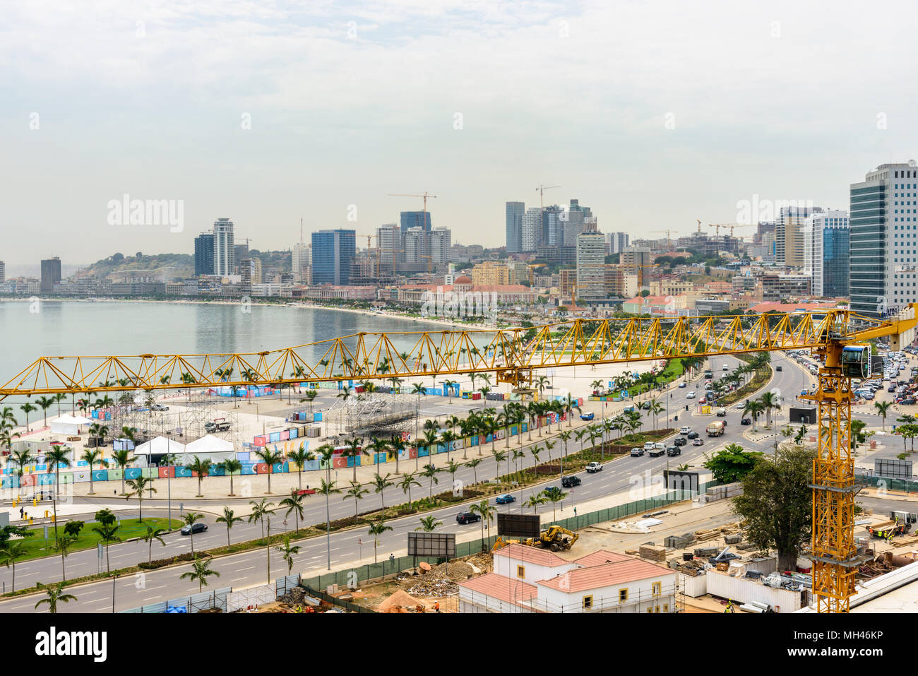 City of Luanda, Angola - Stock Image