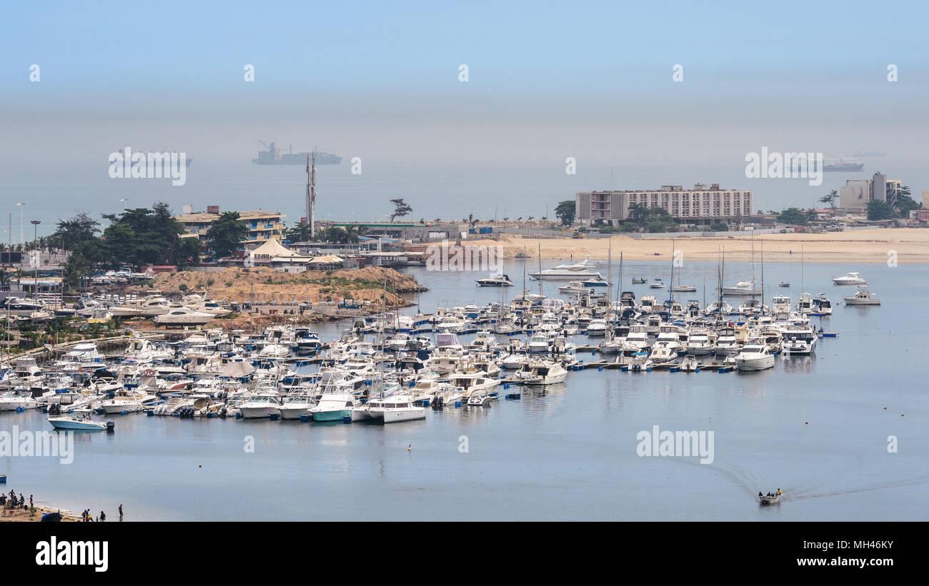 Port of Luanda, Angola - Stock Image